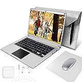 NBD 14 Pouces Ordinateur Portable,Windows 10 Netbook,14,1'' 1080P Full HD IPS Laptop...