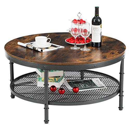 GreenForest-Round-Coffee-Table-for-Living-Room
