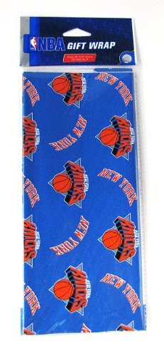 NBA New York Knicks Wrapping Paper