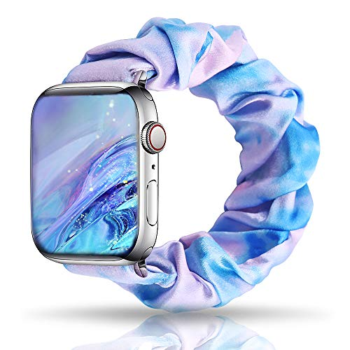 (40% OFF Coupon) Tie Dye Scrunchie Apple Watch Band $5.99