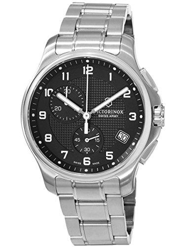 Relógio masculino de quartzo suíço clássico oficial cronógrafo 241592