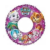 Patrulla Canina - Flotador Hinchable para niña, Rosa, 45 cm (Saica 2217)