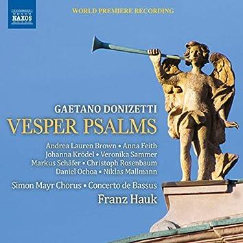 Donizetti: Vesper Psalms