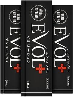 薬用育毛剤EVOL+ ゲルローション(3本セット)