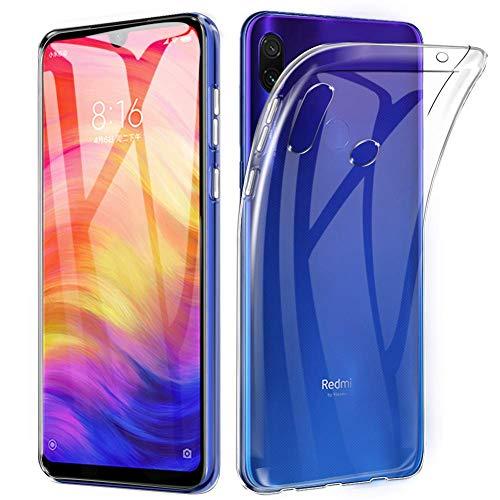 Capa Flexível Case Tpu Xiaomi Redmi Note 7 - Transparente