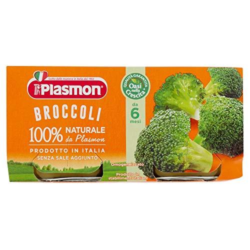 Plasmon Broccoli Omogeneizzato, 2 x 80g