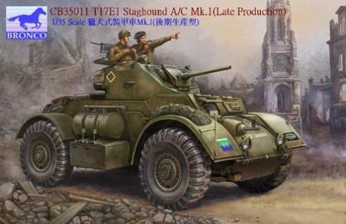 Unbekannt Bronco Models cb35011 – Maqueta de t17e1 Stag