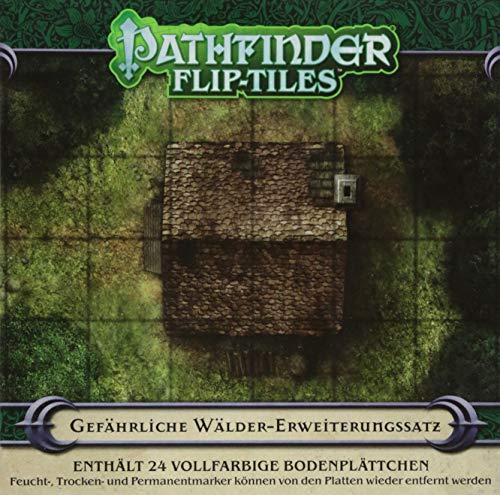 Pathfinder Flip-Tiles: Gefährliche Wälder-Erweiterungssatz (Pathfinder / Fantasy-Rollenspiel)