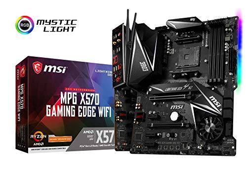 MSI X570 MPG Gaming Edge WIFI Scheda madre per Gaming AMD AM4 DDR4 M.2 USB 3.2 Gen 2 HDMI ATX