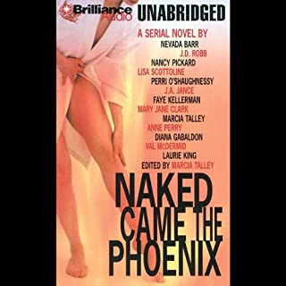 Naked Came the Phoenix audiobook cover art