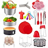 22 Pcs Accessories for Instant Pot 6 8 Qt, YIHONG Pressure Cooker Accessories Set,2 Steamer...