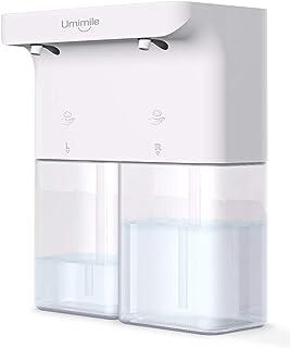 Umimile ソープディスペンサー 自動 泡 ハンドソープ 充電 タッチセンサー 吐出量3段階調整 ディスペンサー オート 600ml 防水 食器用洗剤 キッチン 洗面所などに適用 (泡+泡)