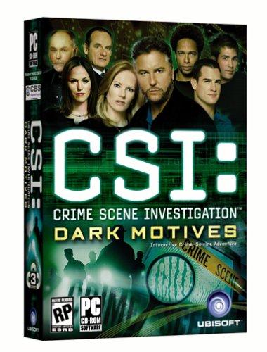 CSI: Crime Scene Investigation - Dark Motives [video game]