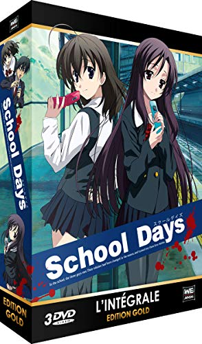 School Days - Intégrale + OAV - Edition Gold (3 DVD)