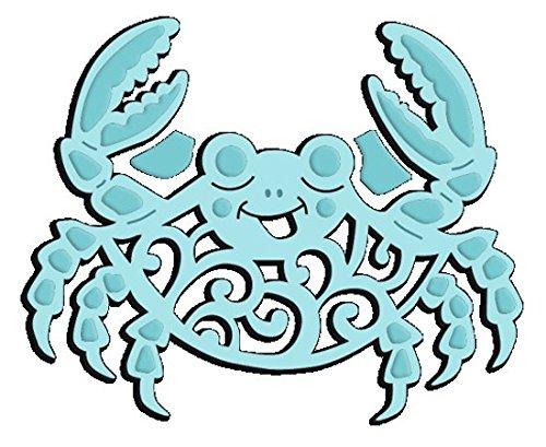 Sweet Dixie Petit Crabe Die, en MÉTAL, Gris, Métal, Gris, 5.4x6.5x0.1 cm