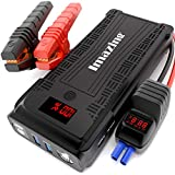 Imazing Portable Car Jump Starter - 2500A Peak 20000mAH (Up to 8L Gas or 8L Diesel...
