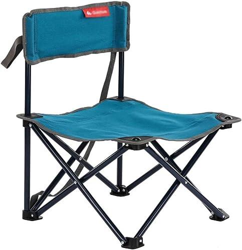 Chaise pliante en plein air Fauteuil de Camping Pliant, siège Ultra-léger