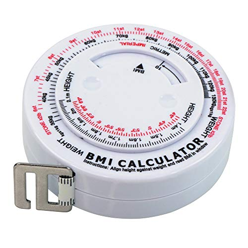 Buy Bargain FoRapid 60/150cm BMI Tape Measure Body Mass Index Anatomical Measuring Tape+Built-in BM...