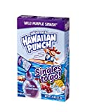 96 TOTAL SERVINGS: Each case contains 12 boxes of Hawaiian Punch Singles To Go, each box has 8 tasty sticks of Hawaiian Punch drink mix giving you a total of 96 delicious single servings. SUGAR FREE: Hawaiian Punch Singles are a healthier choice for ...