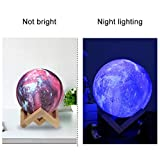 Zoom IMG-2 festnight moon lamp 8cm 3d