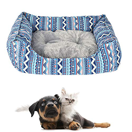 BOENTA Cama Perro Mediano Cama Perro pequeño Perro Camas Plaza Cama del Perro Perro sofá Cama Camas para Perros Oval Cama del Perro Cama del Perro m