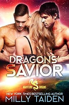 Dragons' Savior: Paranormal Fantasy Dragon Romance (Daeria World) (Nightflame Dragons Book 2) by [Milly Taiden]