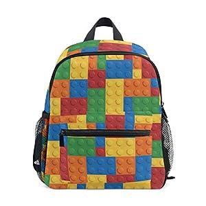 GORIRA(ゴリラ)子供用 キッズ リュック サック 女の子 男の子 幼稚園 かわいい 幾何学模様 軽量 児童バッグ キャンバス おしゃれ 防水 通園 通学 男女兼用バッグパック