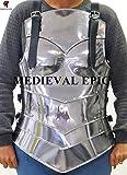 Medieval Epic Armadura de metal para LARP-Elegant Armor Set para mujeres