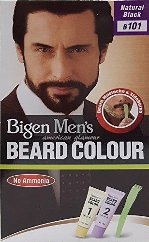 Bigen Men's Beard Colour - Bartfarbe Natural Black - Natural Schwarz 101