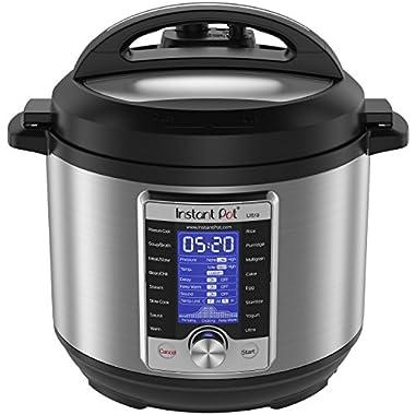 Instant Pot Ultra 6 Qt 10-in-1 Multi- Use Programmable Pressure Cooker, Slow Cooker, Rice Cooker, Yogurt Maker, Cake Maker, Egg Cooker, Sauté, Steamer, Warmer, and Sterilizer
