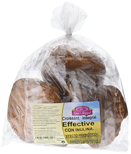 Productos San Diego Croissants Integral Effective - Paquete de 5 x 300 gr - Total: 1500 gr