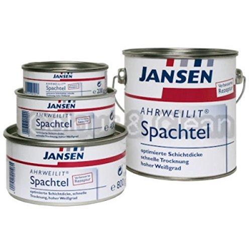JANSEN Ahrweilit Spachtel 200g hochwertiger Malerspachtel f. Holz Metall Altputz