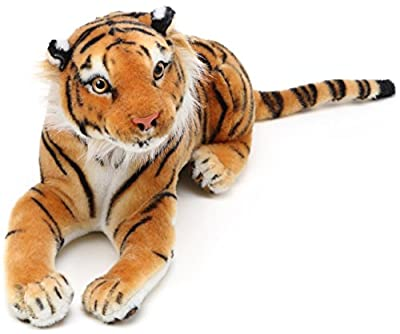 VIAHART Arrow The Tiger   17 Inch (Tail Measurement Not Included!) Stuffed Animal Plush Cat   by Tiger Tale Toys from VIAHART
