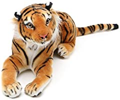 Soft plush fabric | Very huggable and super cute | Every animal comes with its own story! This plush stuffed animal is securely sewn from the highest quality polyester and acrylic fabrics and filled with white polypropylene plush filling, exclusively...