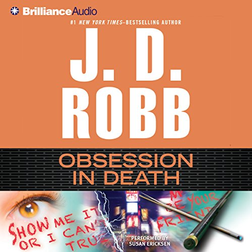 Obsession in Death audiobook cover art