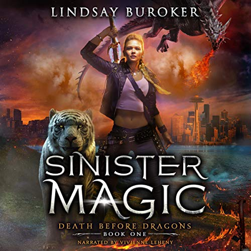 Sinister Magic: An Urban Fantasy Dragon Series cover art