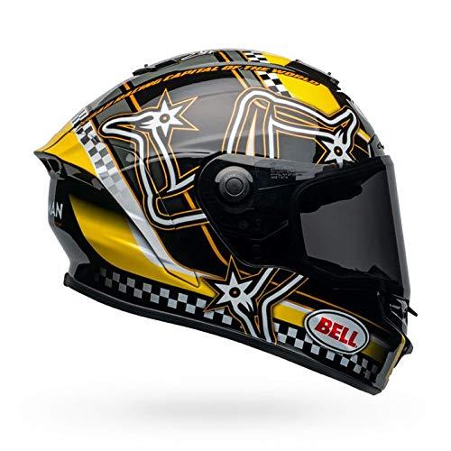 Casco Bell Star DLX Mips L negro/amarillo