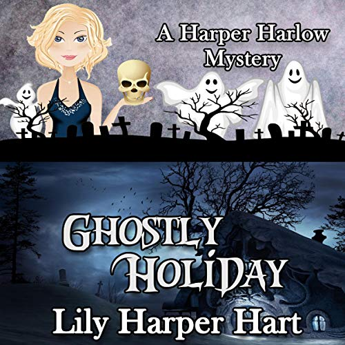 Ghostly Holiday audiobook cover art