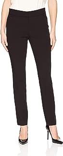 Lark & Ro Women's Dress Pants Black US 2 Straight Leg Trouser Stretch