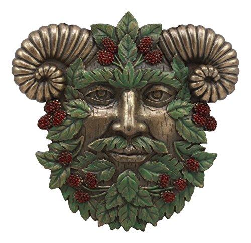 Ebros The Horned God Summer Harvest Celtic Greenman Wall Decor 6'Tall Pan Ent Wall Plaque Figurine
