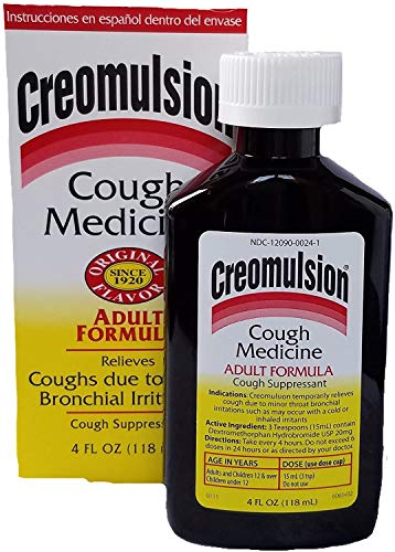 Creomulsion Adult Cough Medicine, 4 Ounce