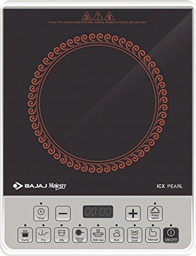Bajaj ICX Pearl 1900-Watt Induction Cooker (Black)