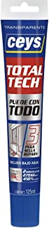 comprar comparacion ceys CE507242 TOTAL TECH TRANSPARENTE TUBO 125ML, 0 W, 0 V, Azul