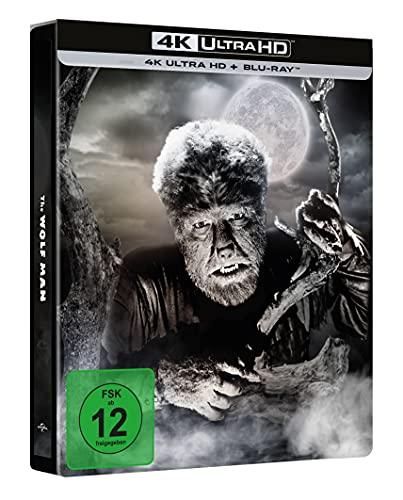 Der Wolfsmensch - Limited Steelbook (4k UHD Exklusiv bei Amazon) [Blu-ray]
