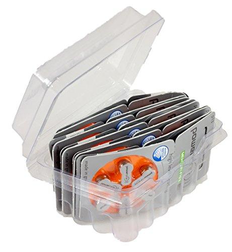 powerone Size 13 Hearing Aid Batteries Zinc Air P13 Pack of 60