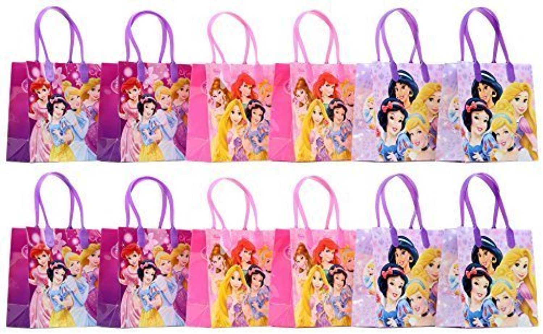 Disney Princess Party Favor Goodie Gift Bag  6 Small Size (12 Packs) by Disney Princess