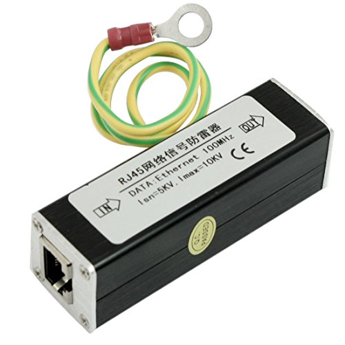 N A RJ45 Ethernet Network Surge Protector Thunder Arrest, 100 MHz