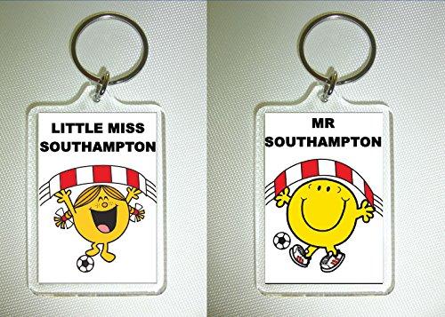 Southampton FC Football Keyring - The Saints