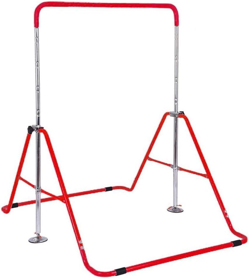 shop XLMCXY Challenge the lowest price Gymnastics Bars for B Horizontal Kids Folding