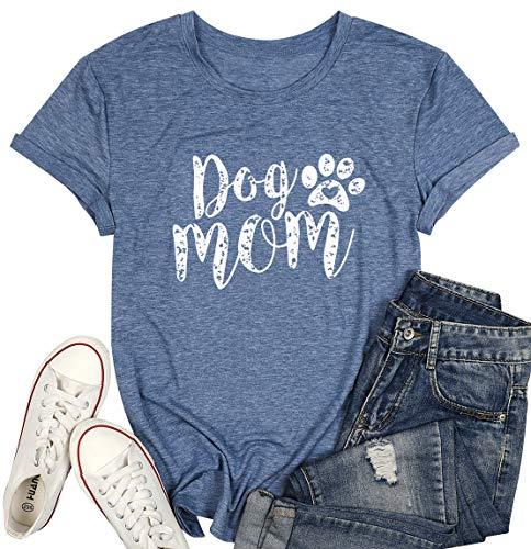 Dog Mom Tshirts for Women